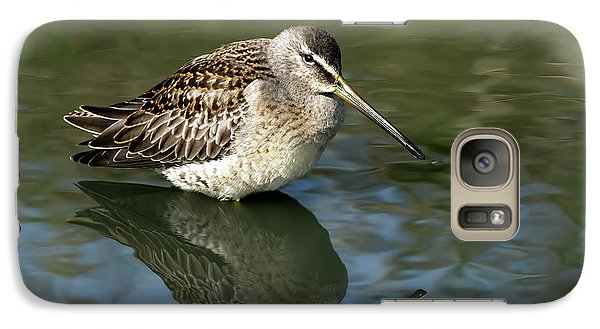 Galaxy Case featuring the photograph Short-billed Dowitcher by Sharon Talson