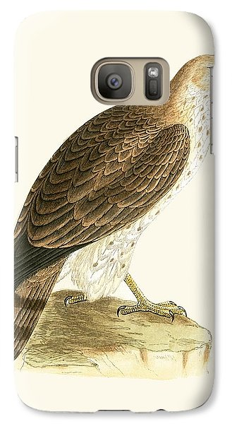 Short Toed Eagle Galaxy S7 Case by English School
