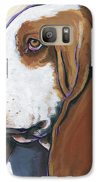 Galaxy Case featuring the painting Shorty by Nadi Spencer