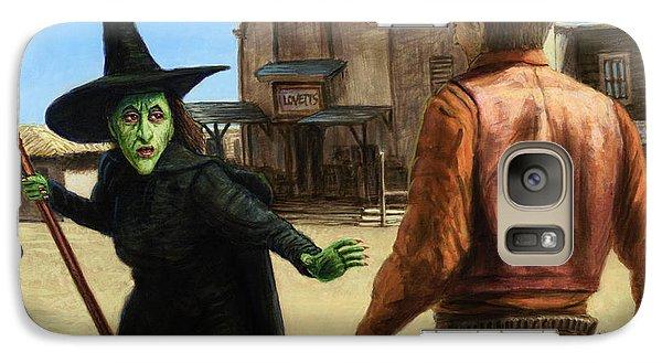 Wizard Galaxy S7 Case - Showdown by James W Johnson