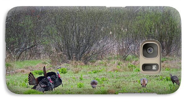 Galaxy Case featuring the photograph Showing Off by Bill Wakeley