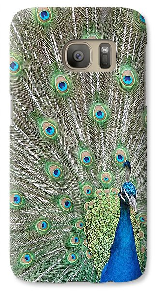Galaxy Case featuring the photograph Showing Off by Margaret Bobb