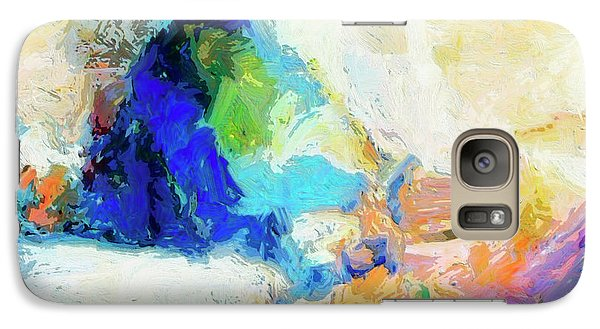 Galaxy Case featuring the painting Shuttle by Dominic Piperata