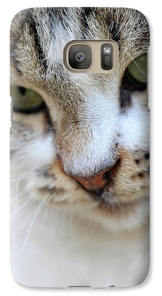 Galaxy Case featuring the photograph Shyness by Munir Alawi