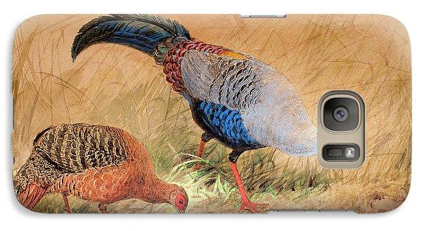 Siamese Pheasant  Galaxy S7 Case