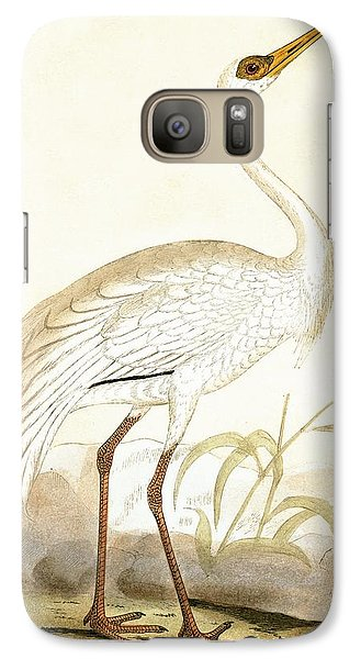 Siberian Crane Galaxy S7 Case by English School