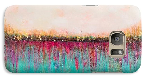 Galaxy Case featuring the painting Side By Side by Suzzanna Frank