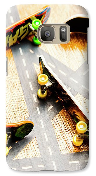 Truck Galaxy S7 Case - Side Streets Of Skate by Jorgo Photography - Wall Art Gallery