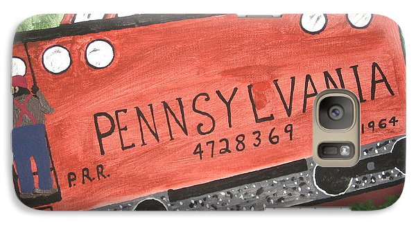 Galaxy Case featuring the painting Side Tracked In Pa.  by Jeffrey Koss