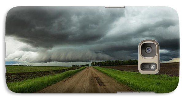 Galaxy Case featuring the photograph Sidewinder by Aaron J Groen