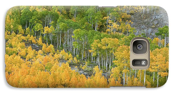 Galaxy Case featuring the photograph Sierra Autumn Colors by Ram Vasudev