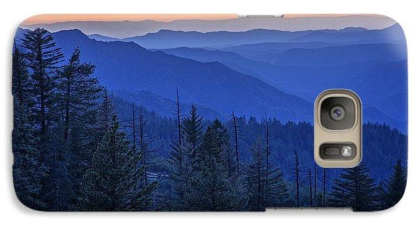 Sierra Fire Galaxy Case by Rick Berk