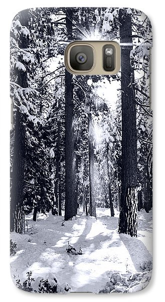 Galaxy Case featuring the photograph Sierra Forest Show by William Havle