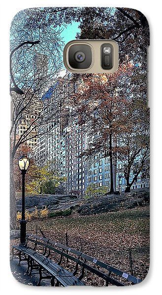 Galaxy Case featuring the photograph Sights In New York City - Central Park by Walt Foegelle