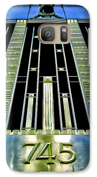 Galaxy Case featuring the photograph Sights In New York City - Classy Address by Walt Foegelle