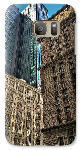 Galaxy Case featuring the photograph Sights In New York City - Old And New 2 by Walt Foegelle