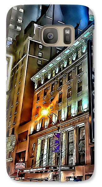 Galaxy Case featuring the photograph Sights In New York City - Scientology by Walt Foegelle