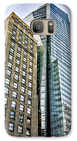 Galaxy Case featuring the photograph Sights In New York City - Skyscrapers by Walt Foegelle