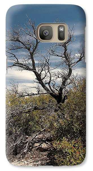Galaxy Case featuring the photograph Signs Of Life After The Fire by Joe Kozlowski