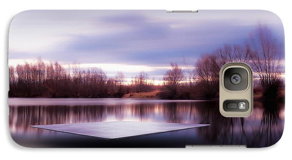 Galaxy Case featuring the photograph Silence Lake  by Franziskus Pfleghart