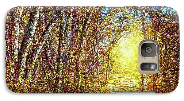 Silence Of A Forest Path Galaxy S7 Case by Joel Bruce Wallach