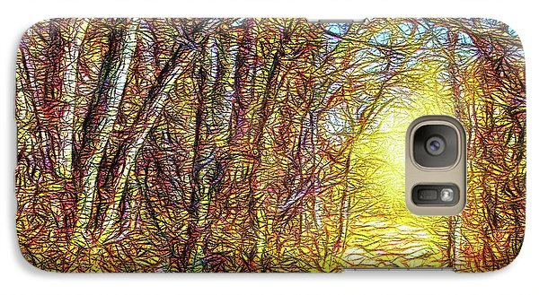 Silence Of A Forest Path Galaxy S7 Case