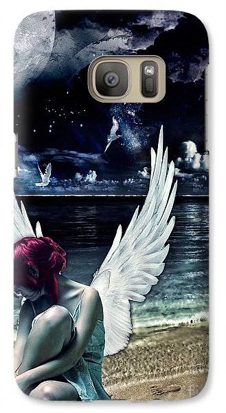 Mo Galaxy S7 Case - Silence Of An Angel by Mo T