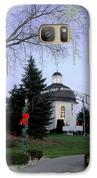 Galaxy Case featuring the photograph Silent Night Chapel by LeeAnn McLaneGoetz McLaneGoetzStudioLLCcom
