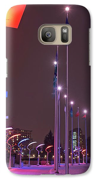 Galaxy Case featuring the photograph Silent Night.. by Nina Stavlund