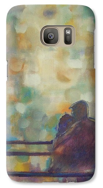 Galaxy Case featuring the painting Silent Night by Raymond Doward