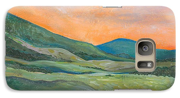 Galaxy Case featuring the painting Silent Reverie by Tanielle Childers
