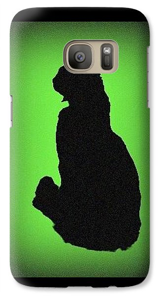 Galaxy Case featuring the photograph Silhouette by Karen Shackles