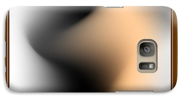 Galaxy Case featuring the digital art Silhouettes 3 by Leo Symon