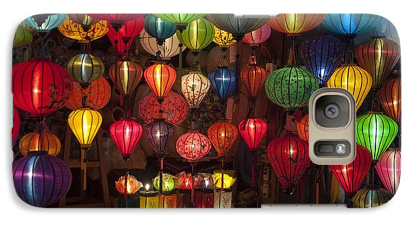 Galaxy Case featuring the photograph Silk Lanterns by Rob Hemphill