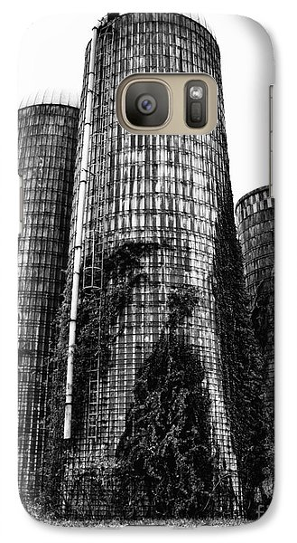 Galaxy Case featuring the photograph Silos by Tamera James