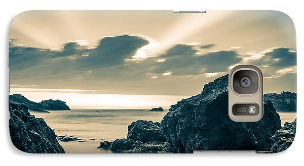 Galaxy Case featuring the photograph Silver Moment by Thierry Bouriat