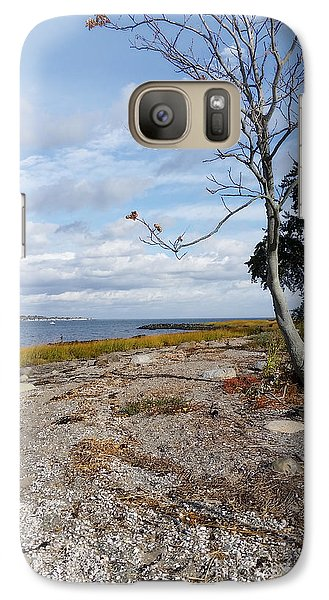 Galaxy Case featuring the photograph Silver Sands by Raymond Earley