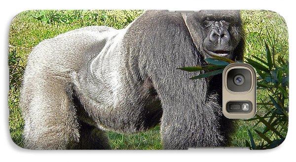 Ape Galaxy S7 Case - Silverback by Steven Sparks