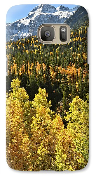 Galaxy Case featuring the photograph Silverton Mountainscape by Ray Mathis