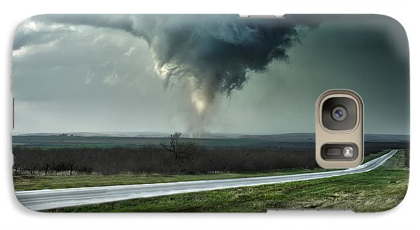 Galaxy Case featuring the photograph Silverton Texas Tornado 2 by James Menzies