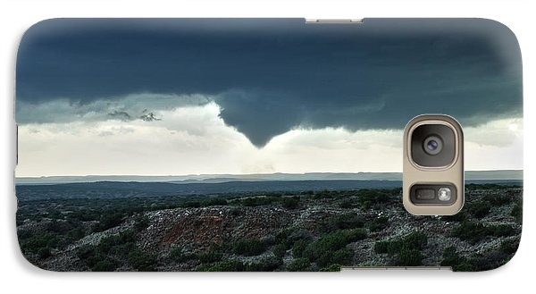 Galaxy Case featuring the photograph Silverton Texas Tornado Forms by James Menzies