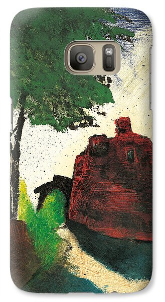 Galaxy Case featuring the painting Simiane La Rotonde by Martin Stankewitz