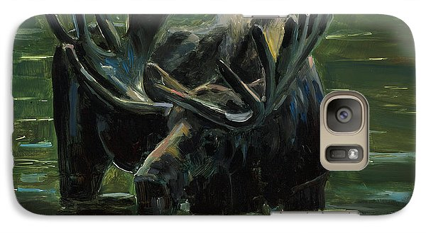 Galaxy Case featuring the painting Simple Pleasures by Billie Colson
