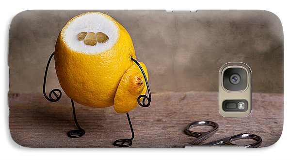 Lemon Galaxy S7 Case - Simple Things 11 by Nailia Schwarz