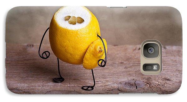 Lemon Galaxy S7 Case - Simple Things 12 by Nailia Schwarz
