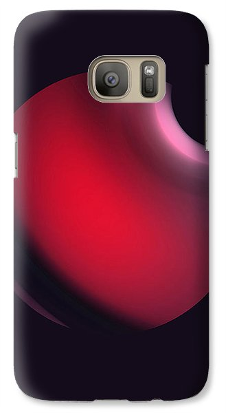 Galaxy Case featuring the digital art Simplicity 12-2 by John Krakora