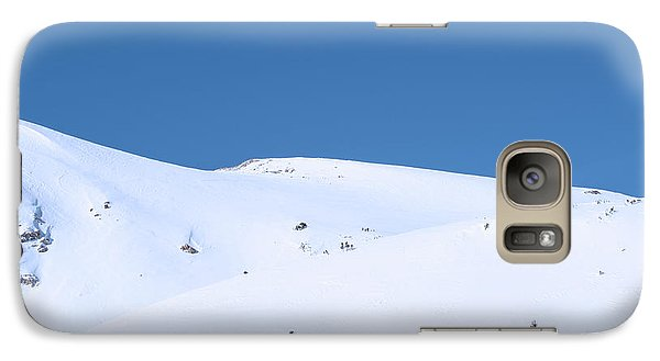 Galaxy Case featuring the photograph Simply Winter by Juli Scalzi