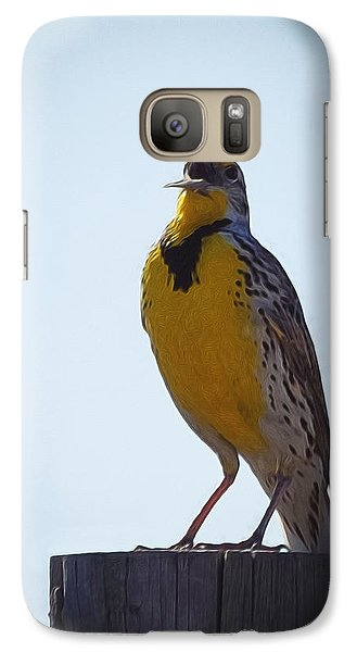 Sing Me A Song Galaxy S7 Case by Ernie Echols