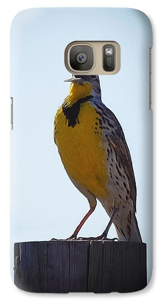 Sing Me A Song Galaxy S7 Case