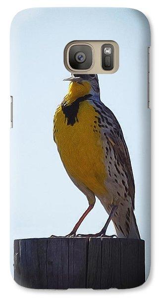Sing Me A Song Galaxy S7 Case by Ernie Echols